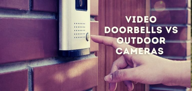 video doorbell vs outdoor camera